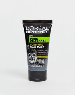 Pure Charcoal Purifying Clay Mask 50ml-No Color