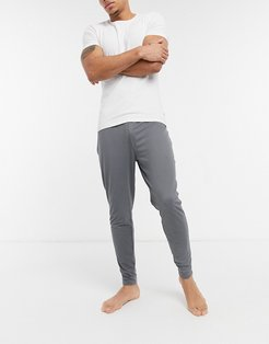 lounge pants in gray-Grey