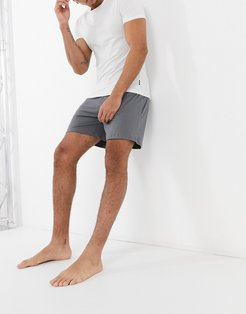 lounge short in gray-Grey