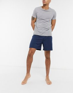 lounge shorts in navy