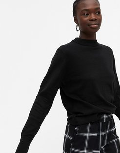 Ambidextra knit sweater in black