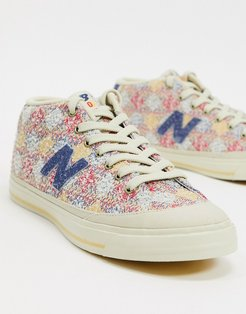 210 sneakers in pink patchwork