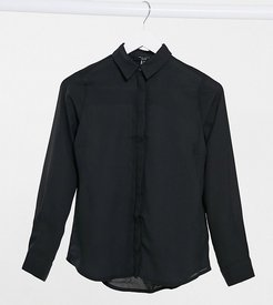 button up shirt in black