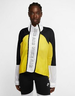 Nike Air Running jacket in yellow