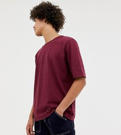 oversized t-shirt in premium textured jersey