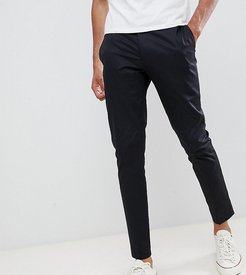 Tall smart tapered chino-Black