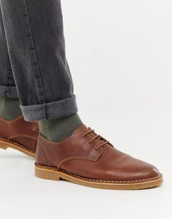 Inferno desert shoes in tan leather