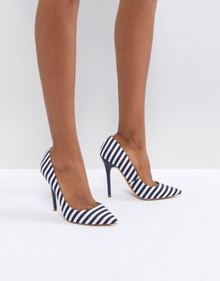 On Tops Striped Pumps-Multi