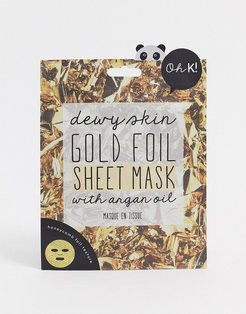 Oh K! Gold Foil Sheet Mask-No color