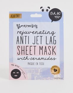 Oh K! Rejuvenating Anti Jet Lag Sheet Mask-No Color