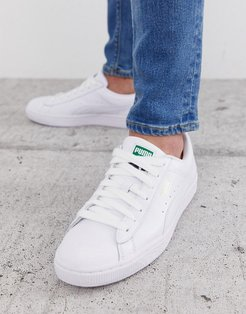 Basket Classic sneakers in white leather