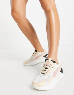 RS-X3 sneakers in beige and pink