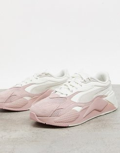 RS-X3 sneakers in pink cream ombre
