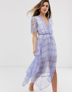 Rahi Checkmate Bella Dress-Blue