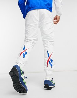 Classics vector fr trackpant in white