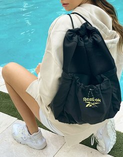 Summer Retreat backpack in black