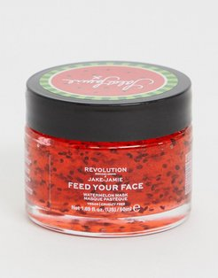 Skincare x Jake Jamie Watermelon Hydrating Face Mask-No color
