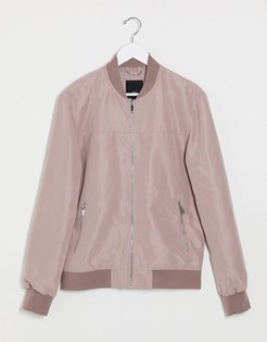 bomber in pink