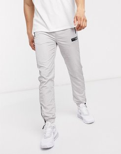 Concept track pant in light gray