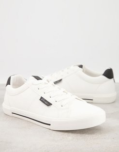 Prolific canvas sneakers in white