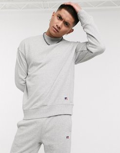 Frank sweatshirt with small logo in gray