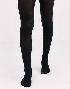 Luxe legs 60 denier opaque shaping tights in black