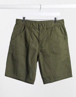fat short in olive-Green