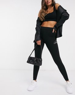 signature legging in black