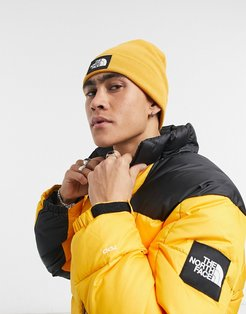 Dock Worker Recycled beanie in yellow