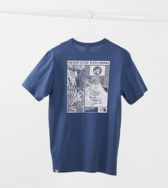 Story t-shirt in blue Exclusive at ASOS