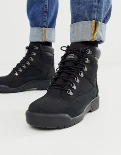 level two 6 field boot in black