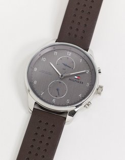 Tommy Hiliger chase watch in black