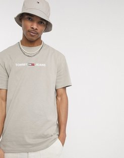 chest small logo t-shirt in stone