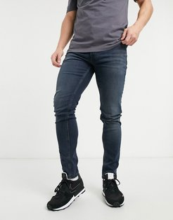 skinny fit simon jeans in washed black