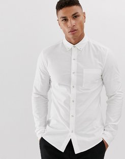 oxford shirt in white