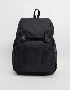 utility backpack in black