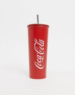 x Coco Cola drinking cup in red