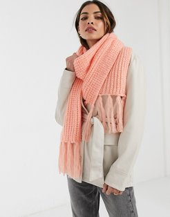Urban Code Scarf In Pink
