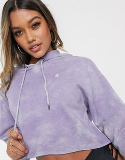 Clouded Hoodie in washed lilac-Purple