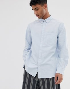 Henning oxford shirt in blue