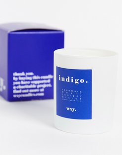 WXY. Indigo. Rosemary & Cedar Candle 200g-No color