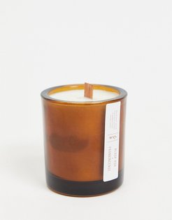 WXY. Mini Amber Black Ash & Frankincense Candle 150g-No color