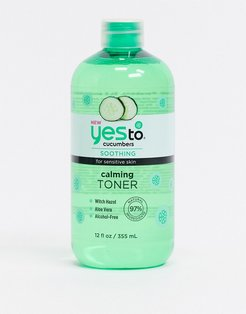 Cucumbers Calming Toner-No color