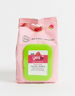 Watermelon Super Fresh Facial Wipes 40CT-No Color