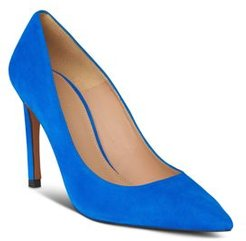 Cornel Pointed Toe Suede Pumps