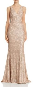 Sequined Mermaid Gown - 100% Exclusive