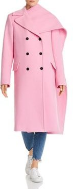 Cappotto Wool-Blend Double-Breasted Coat