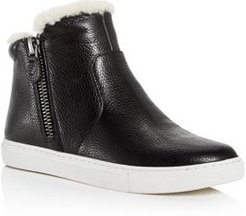 Carter Cozy Shearling High-Top Sneakers