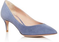 Decolette Pointed-Toe Pumps
