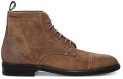 Harland Suede Lace-Up Boots